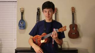 "Zen Zen Zense from the movie ""Your Name"" - Solo ukulele cover"