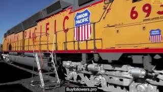 The Most Powerful Single-Unit Diesel Locomotive / EMD DDA40X / General Motors