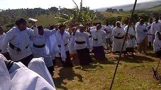 Shembe women dance @Mandeni 2014