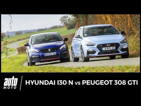 Hyundai i30 N vs Peugeot 308 GTi des chiffres et des lettres
