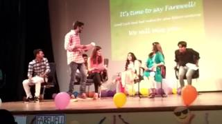 Funniest skit on college life by CUH students in farewell 2017