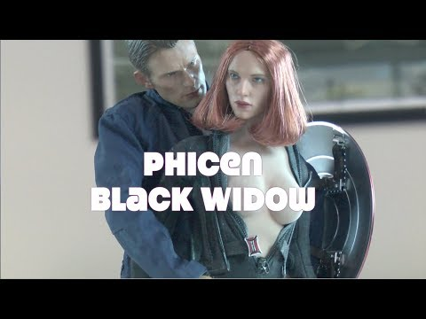 Xxx Mp4 ✔Custom PHICEN BLACK WIDOW Captain America Winter Soldier NOT Hot Toys 3gp Sex