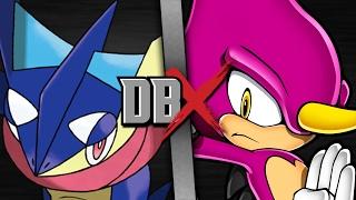 Greninja VS Espio (Pokemon VS Sonic the Hedgehog) | DBX
