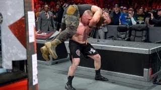 Brock Lesnar vs Braun Strowman vs Kane [ Full Triple Threat Match ] - Royal Rumble 28/01/2018