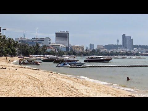 Central Pattaya Beach Thailand