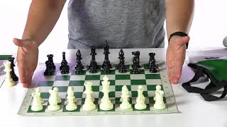 Selecting Chess Sets for the Classroom