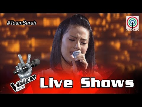 Xxx Mp4 The Voice Teens Philippines Live Show Nisha Bedaña All I Ask 3gp Sex