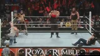 30 Man Match | |Royal Rumble 2016 Highlights HD