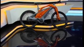 Iran made Hybrid Bicycle dubbed Chitah, University project دوچرخه هايبريد چيتا ساخت ايران