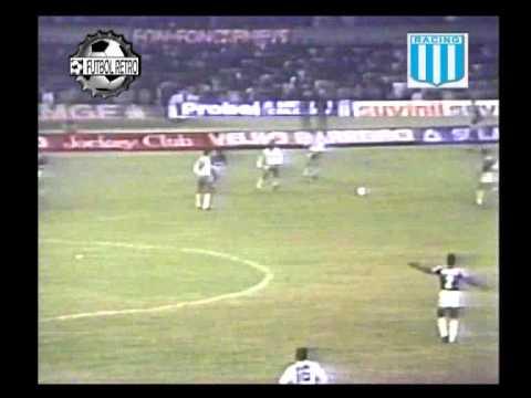 Cruzeiro 1 vs Racing 1 Catalan Final Supercopa 1988 Vuelta FUTBOL RETRO TV
