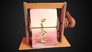 How to Make Alien Dance Flipbook Animation Machine