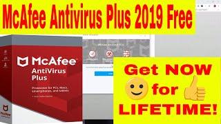 McAfee Antivirus Plus 2019 Full Version Free Lifetime Activation - McAfee License Key✔️