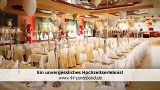 Hochzeit feiern mit FortyFour, Partyband, Hochzeitsband, Full-HD