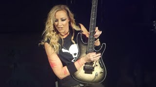"""""""Nita Strauss Guitar Solo & Poison"""" Alice Cooper@Kirby Center Wilkes-Barre, PA 3/10/18"""