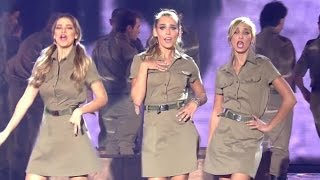 IDF songs at children's Festival (soldiers of the  Israel Defense Forces singing Israeli songs)