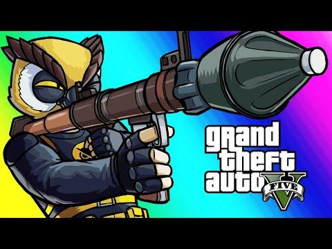 Xxx Mp4 GTA5 Online Funny Moments RPG VS Flying Cars 3gp Sex