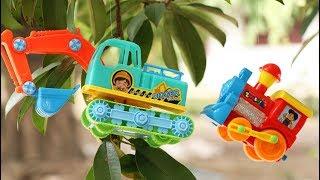 ต้นไม้ประหลาดออกลูกเป็นของเล่น รถแม็คโคร รถดั้ม รถบรรทุก รถไฟ รถแทรกเตอร์