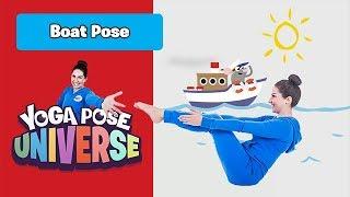 Boat Pose   Cosmic Kids Yoga Pose Universe   Kids Workout
