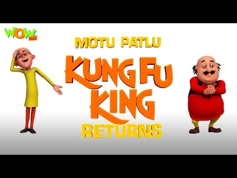 Motu Patlu Kungfu King Returns - Motu Patlu Movie - ENGLISH, SPANISH & FRENCH SUBTITLES!