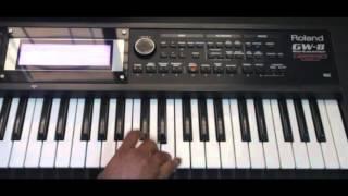 Sairat movie song.. Zingat on keyboard..