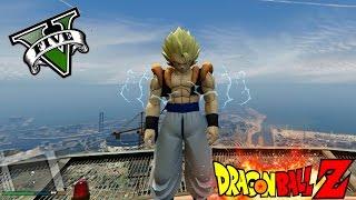 GOGETA Y NUEVOS PODERES EN GTA 5 | GOKU MOD DRAGON BALL Z