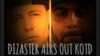 Dizaster Airs Out KOTD's Dirty Laundry, Exposes Everything
