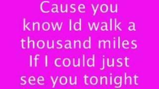 A thousand miles (lyrics)