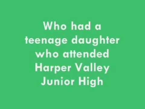 Jeannie C. Riley Harper Valley PTA 1968