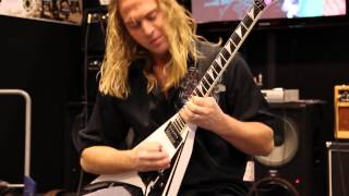 Guitarist Chris Sanders Shreds With Eminence At NAMM 2014