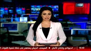 نشرة اخبار السابعة  من القاهرة والناس 18 نوفمبر