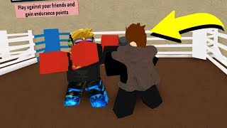 PLAYING ROBLOX BOXING **EXTREME KNOCKOUTS**