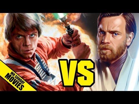 watch LUKE SKYWALKER VS OBI-WAN KENOBI - Who Would Win In A Fight?