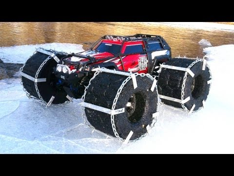 Xxx Mp4 RC ADVENTURES FLOATiNG TRAXXAS SUMMiT ICE Chains Floating RC TiRES 3gp Sex