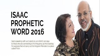 Dr.Jonathan David -  Prophetic Word For 2016 (ISAAC)