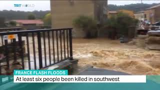 GMS: BREAKING NEWS- AT LEAST 6 KILLED IN FRANCE FLASH FLOODS