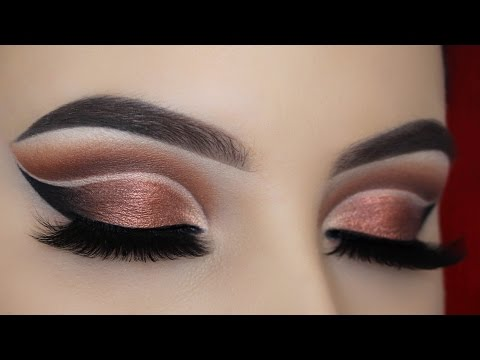 Dramatic Double Cut Crease Makeup Tutorial