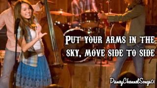 Hannah Montana The Movie - Hoedown Throwdown [ With Lyrics ]