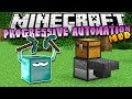 Download Minecraft progressive automation automated mining - mod showcase