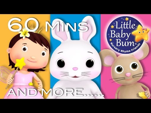 Little Bunny Foo Foo | Plus Lots More Nursery Rhymes | 60 Minutes Compilation from LittleBabyBum!
