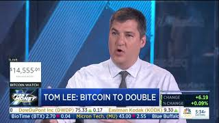 Tom Lee Bitcoin to double CNBC Fast Money 01.09.18
