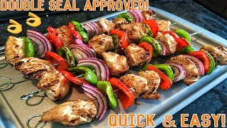High Protein Bodybuilding Grilled Chicken Skewers   Easy Healthy Recipe