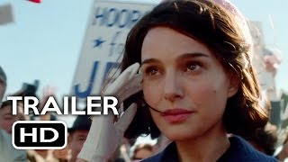 Jackie Official Trailer #1 (2016) Natalie Portman Biopic Movie HD