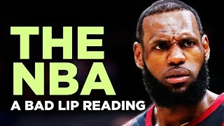 """THE NBA"" — A Bad Lip Reading"