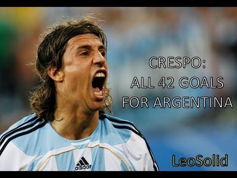 Xxx Mp4 Hernán Crespo All 42 Goals For Argentina Los 42 Goles De Crespo Con La Selección Argentina 3gp Sex