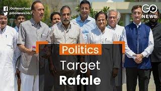 Congress Meets CVC On Rafale