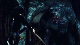 Underworld Awakening   Selene vs Giant Werewolf