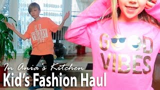 Kids Fasion Haul and Try-on