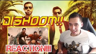 Indian Rush Hour!!| Dishoom official trailer REACTION!!