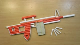 How to Make a Paper Sniper Rifle - (Shoots 5 Bullets) - Easy Paper Gun Tutorials