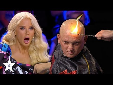 Guy SHOCKS Judges With His Electrical Talent Got Talent Global